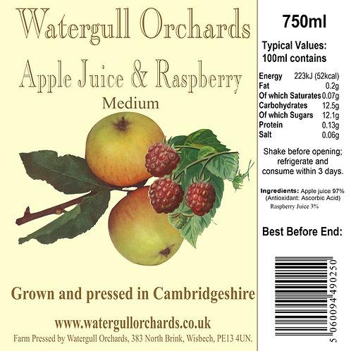 Medium Apple & Raspberry 75cl