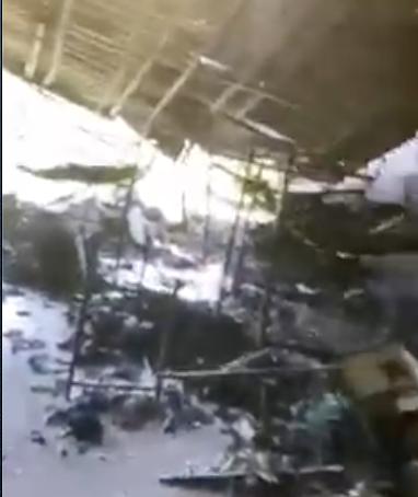 Se incendia dormitorio de Comandancia de Allende,NL