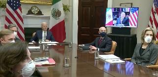 Flujo migratorio tema central de Presidentes de EU y México