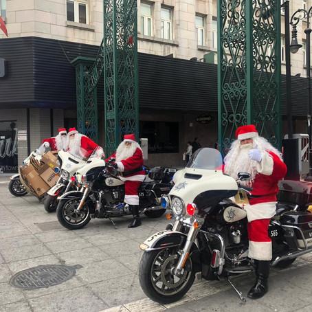 Santa Clós ya se deja ver en el centro de Monterrey ...