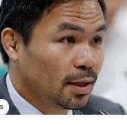 Manny Pacquiao ahora buscará ser Presidente de Filipinas