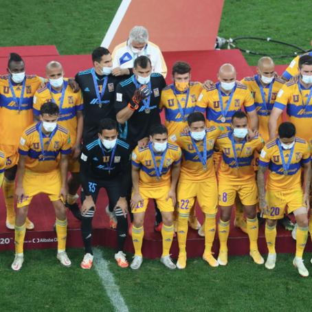 Tigres subcampeón del mundial de Clubes