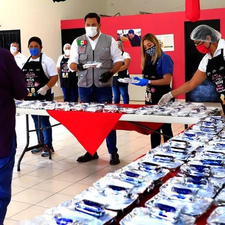 Habilitan 10 comedores comunitarios en Guadalupe