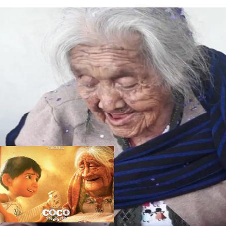 Recuerdas a mamá Coco, cumplió 108 años..!!!