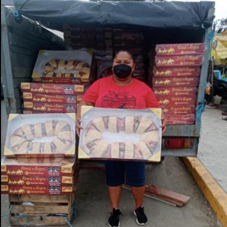 Compró 300 roscas y las revendió todas…!!!