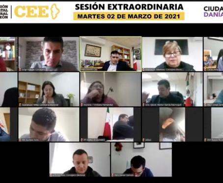 Avala CEE a Adrián, Fernando y Carolina para arrancar campañas rumbo a la gubernatura