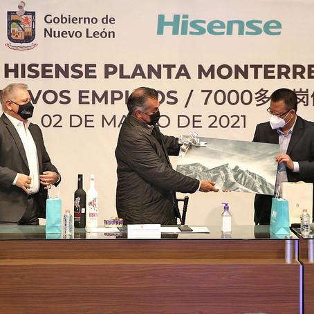 Instalarán planta de manufactura de electrodomésticos a NL,  generará 7 mile empleos