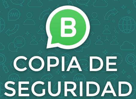 WhatsApp Business: Crea una copia de seguridad