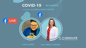 Hablando de COVID con la Dra. Yenelli Cedano, directora del Laboratorio Genolife