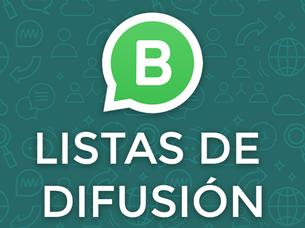 WhatsApp: Listas de Difusión