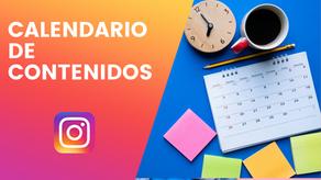 Calendario de Contenidos para Instagram