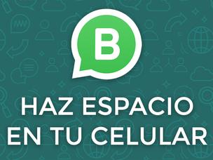 WhatsApp Business: Haz un poco de Espacio en tu celular con este método