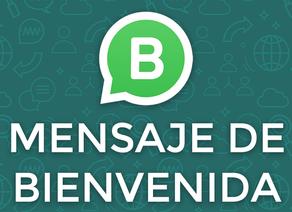 WhatsApp Business: Mensaje de Bienvenida