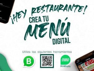 Menú QR para tu Restaurante con WhatsApp Business y MiWhats