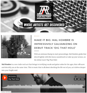 Dig That Hole Review A&R Factory Blog