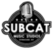 Logo for SubCat Studios, a professional studio in Syracuse, NY