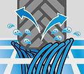 schematische Darstellung Reifen Wasser.j