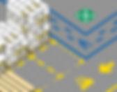Schablonen_Anwendung Stellplatzmarkierun