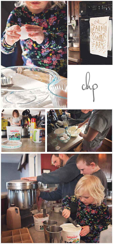 Pancakes + Ice Cream {lifestyle photography} - part one