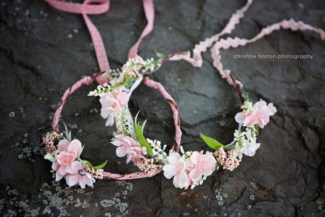 Behind the Scenes {flower crowns}
