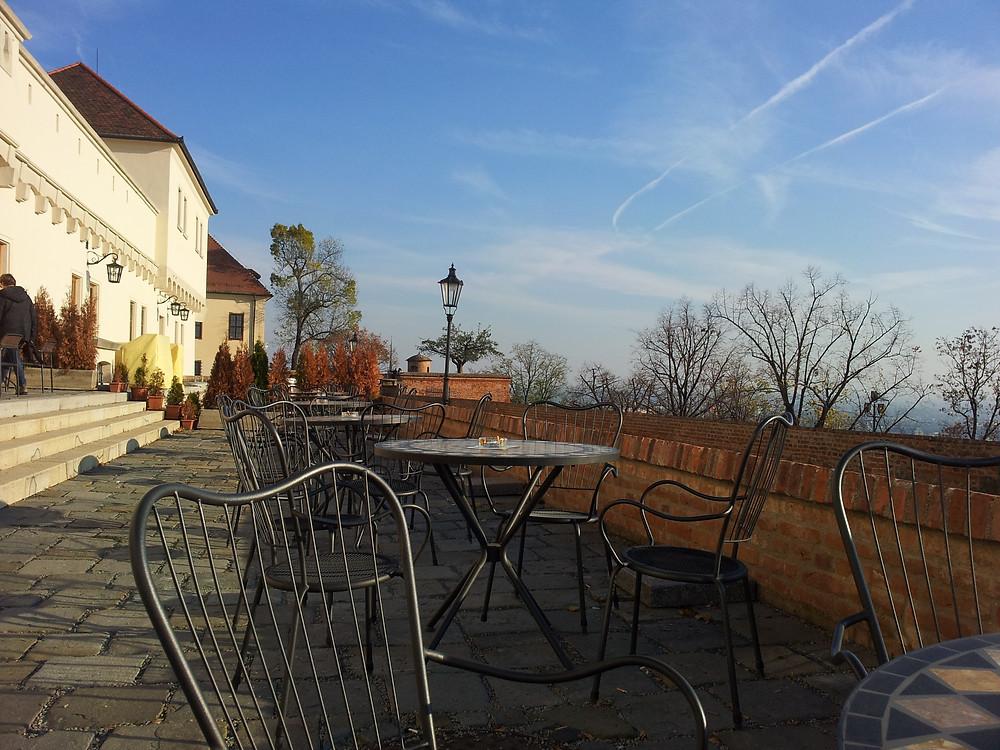 Poobědová procházka na kávu s výhledem na Brno