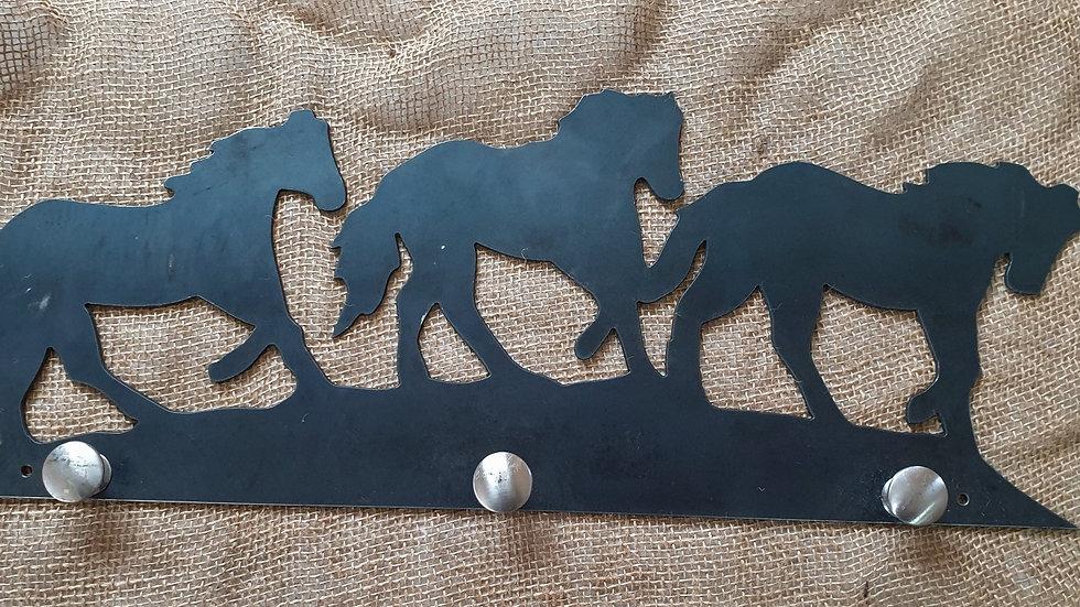 Horse Coat Rack