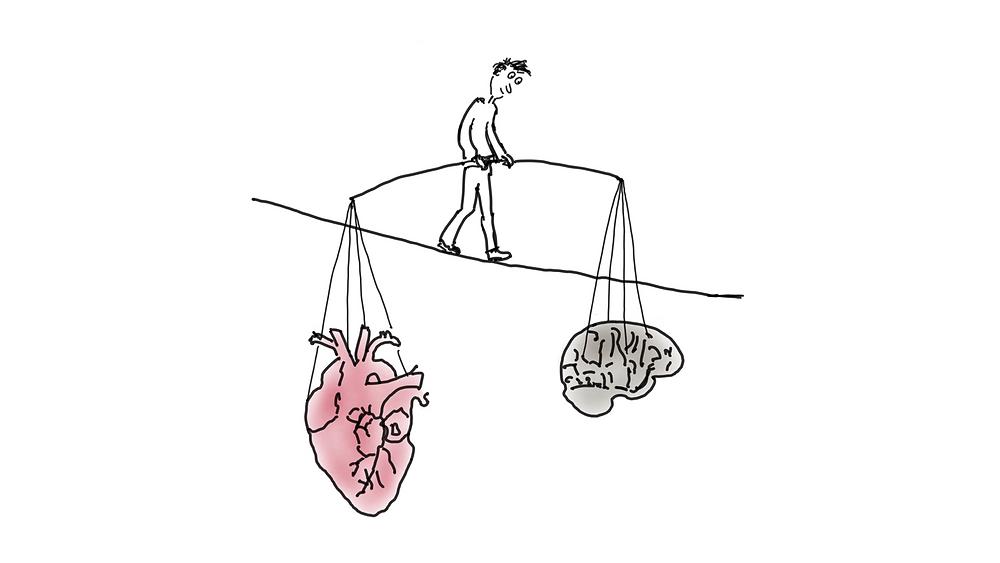 Inneres und äüßeres Gleichgewicht - Achtsamkeit Blog