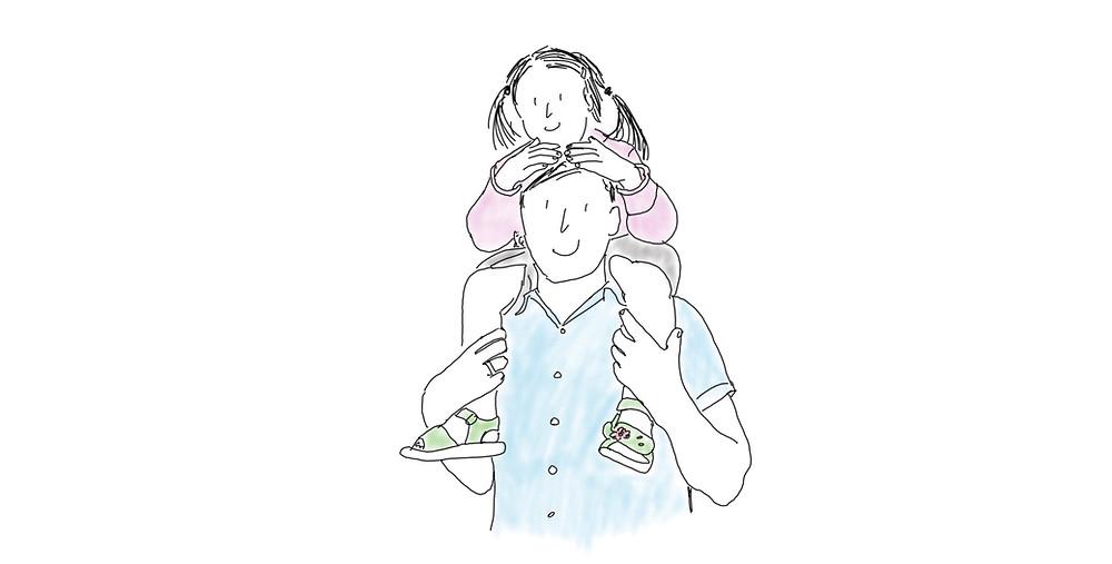 Mit Kindern Achtsam sein - Achtsamkeit Blog