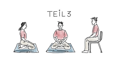 Haltung ist die Basis von Meditation - Teil 3