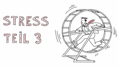 Was passiert eigentlich bei Stress? Teil 3 -  Wie wir Dauerstress im Alltag spüren