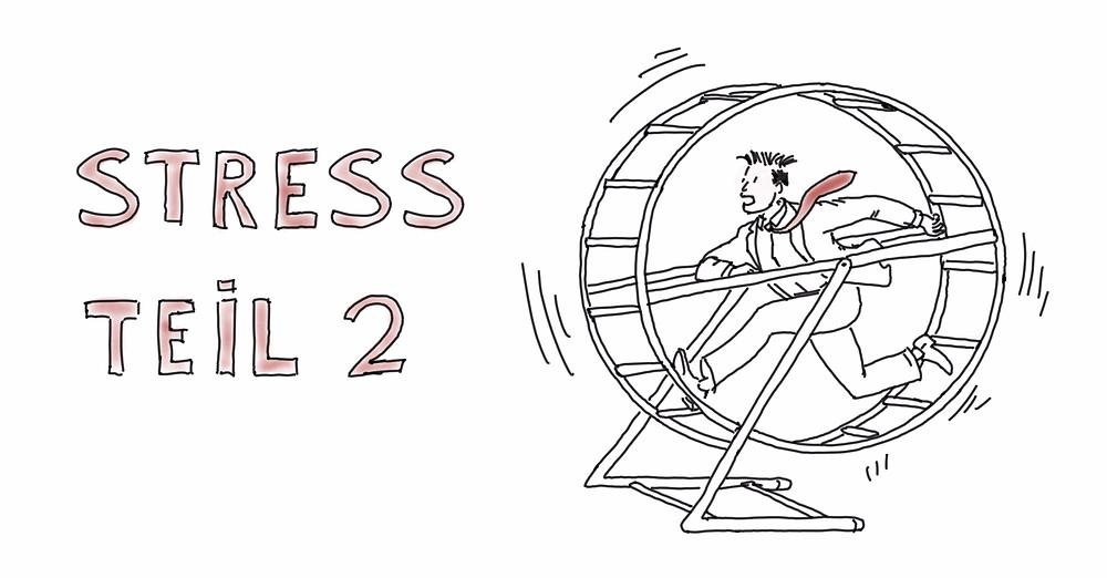 Diw Wirkung von Dauerstress auf unseren Körper - Achtsamkeit Blog