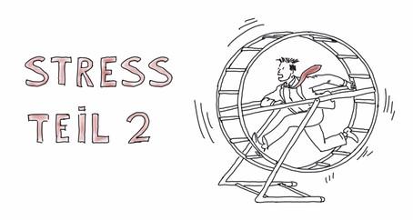 Was passiert eigentlich bei Stress? Teil 2 -  Die Wirkung von Dauerstress auf unseren Körper