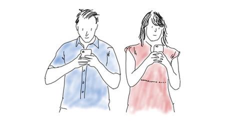 Handy & Social Media - verbunden - aber womit?