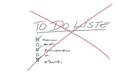 Mein Leben ohne To Do Liste