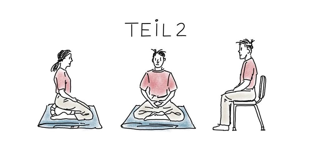 Haltung ist die Basis von Meditation - Achtsamkeit Blog