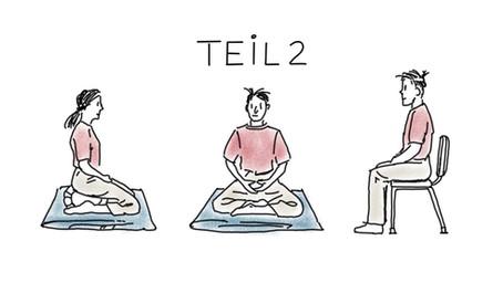 Haltung ist die Basis von Meditation - Teil 2