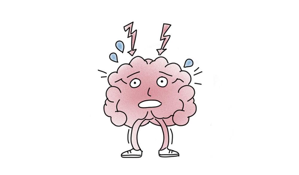 Wie Stress sich im Gehirn auswirkt I Achtsamkeit Blog
