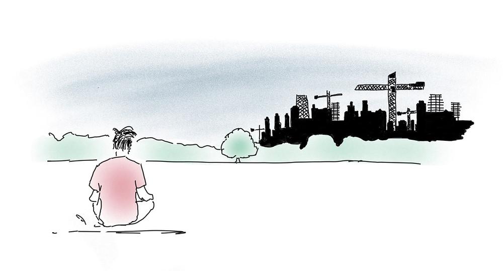 Inehalten, wenn alles anders wird, Achtsamkeit Blog