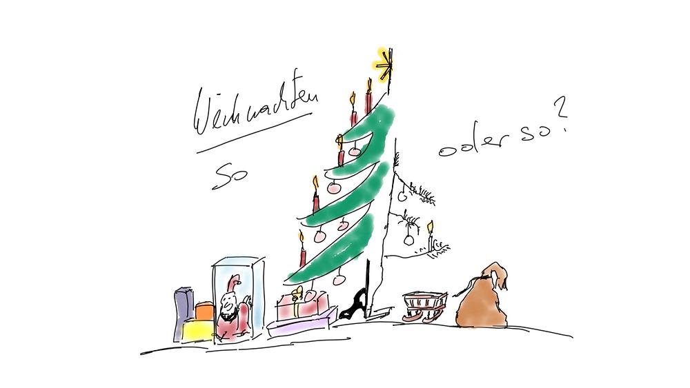 Weihnachten - verschiedene Kulturen treffen aufeinander - Achtsamkeit Blog