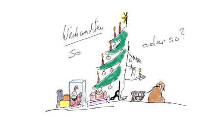 Weihnachten - verschiedene Kulturen treffen auf einander