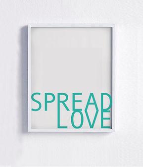 Verbreiten Sie Liebes-Plakat 4