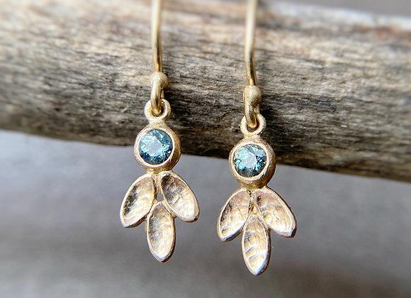 Garden   Dangling Leaves Earrings