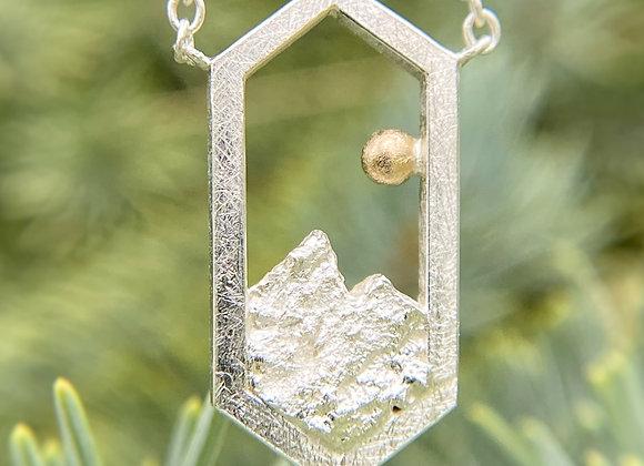 Rocky Mountain Peaks Necklace