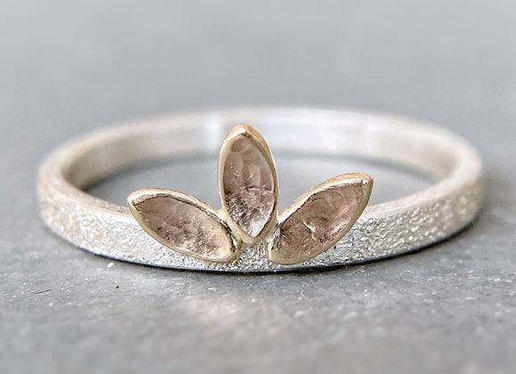 Garden | Leaf Crown Ring