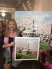"Kelby's ""Wesleyan College Chapel"" Painting is Award Winning!"