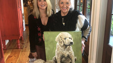 Paula Deen's Pet Portrait