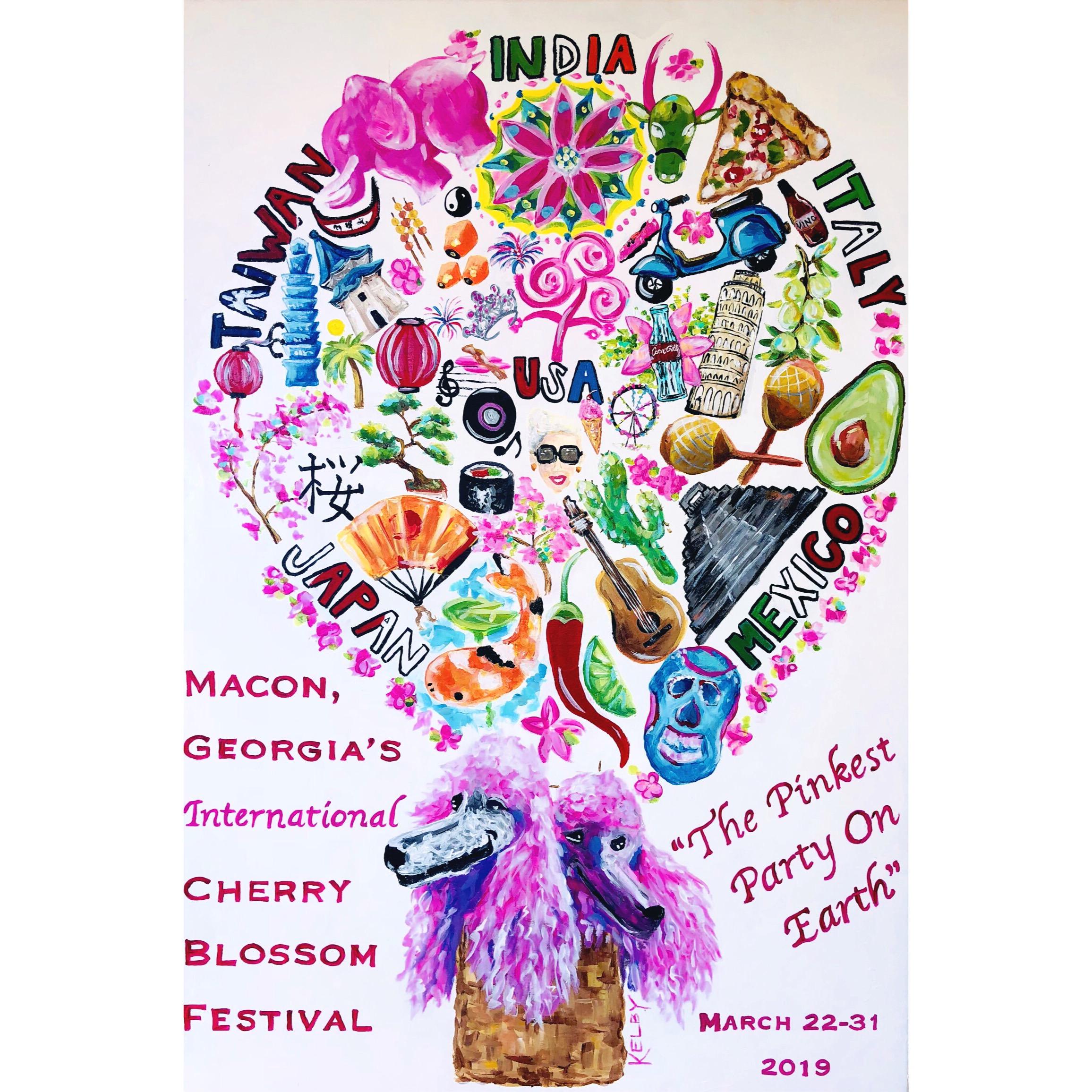 Cherry Blossom Festival Official Poster