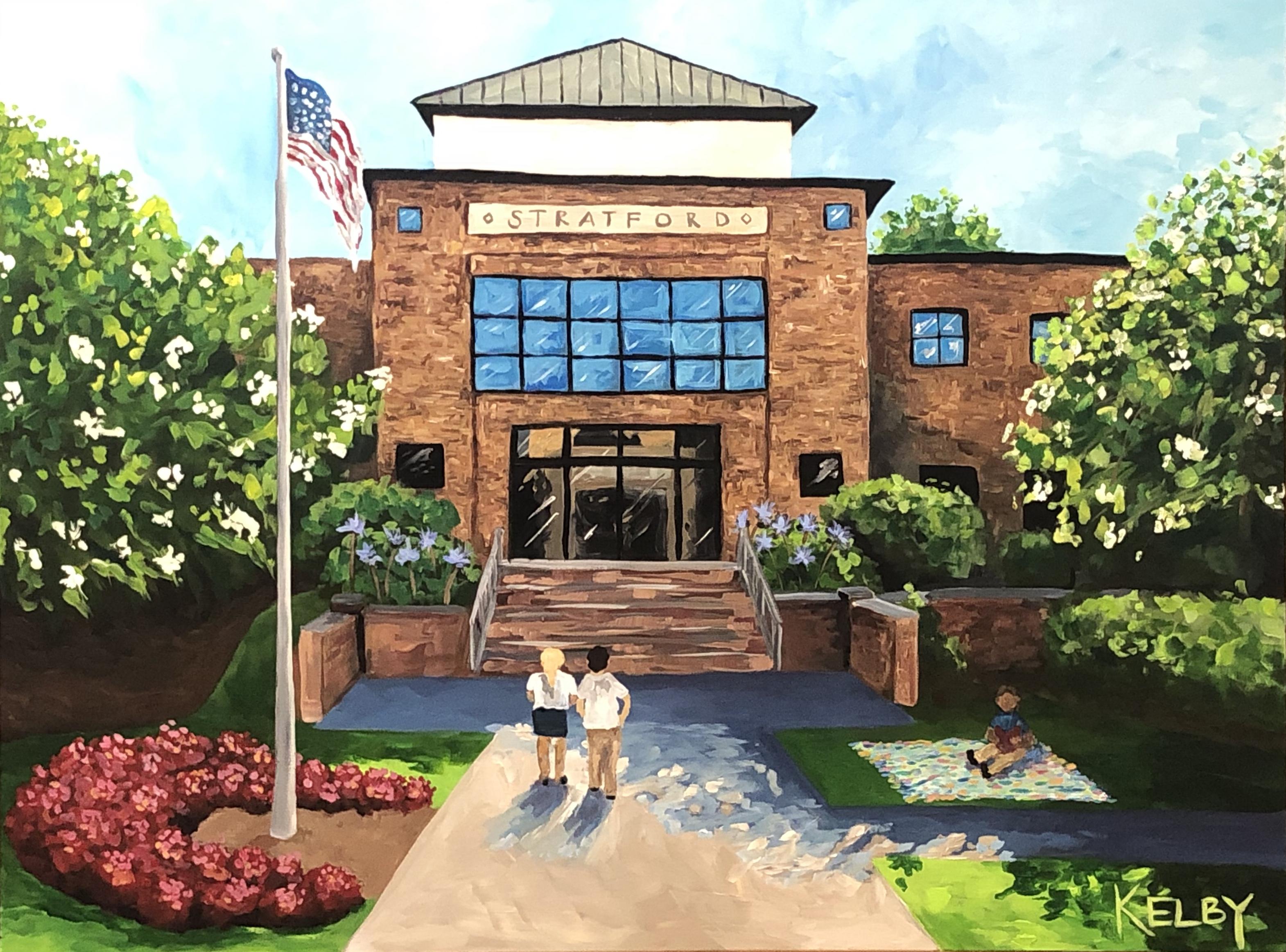 Stratford Academy Olson Library
