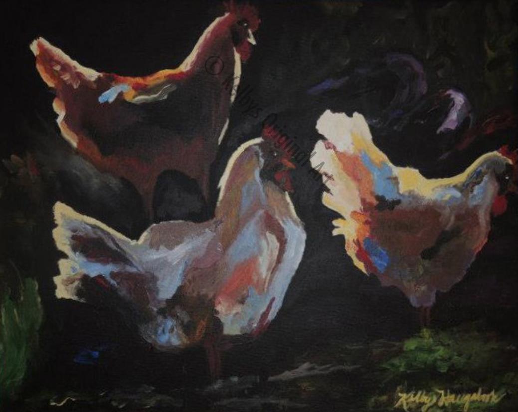 Three More Chickens