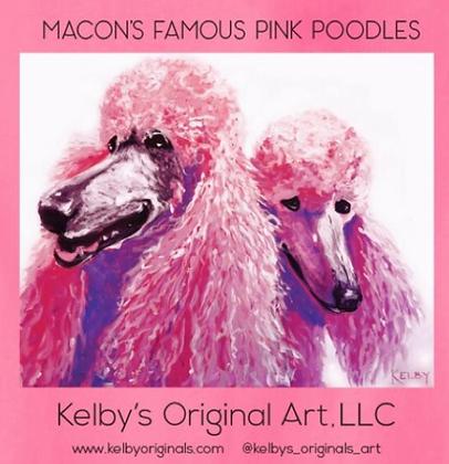 Macon's Famous Pink Poodle T-Shirt